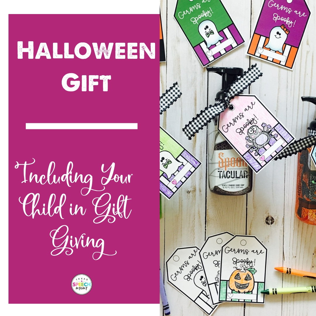 Easy (and FREE) Halloween Gifts… Even A Toddler Can Do It!