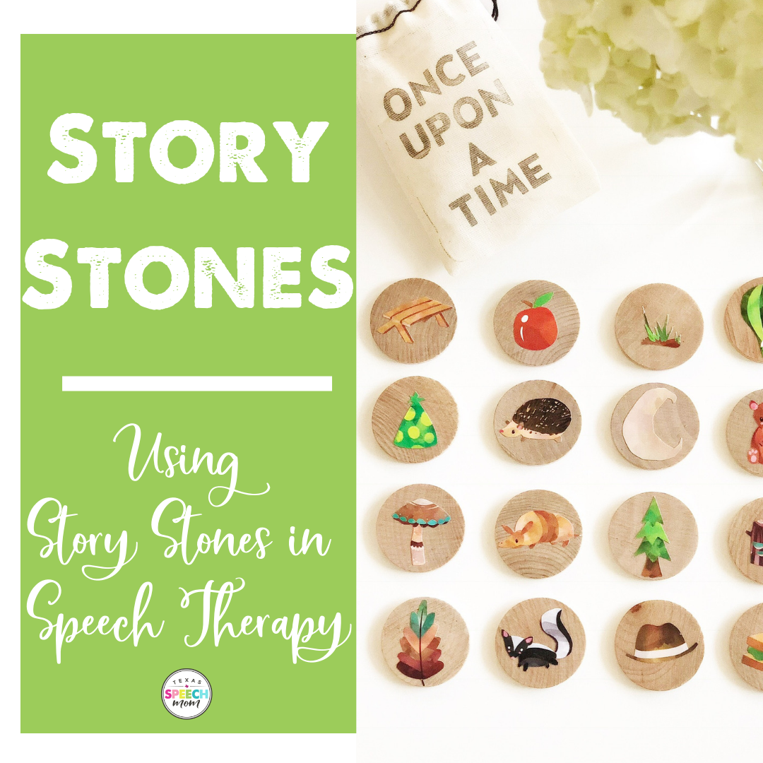 HOW TO USE STORY STONES IN SPEECH THERAPY