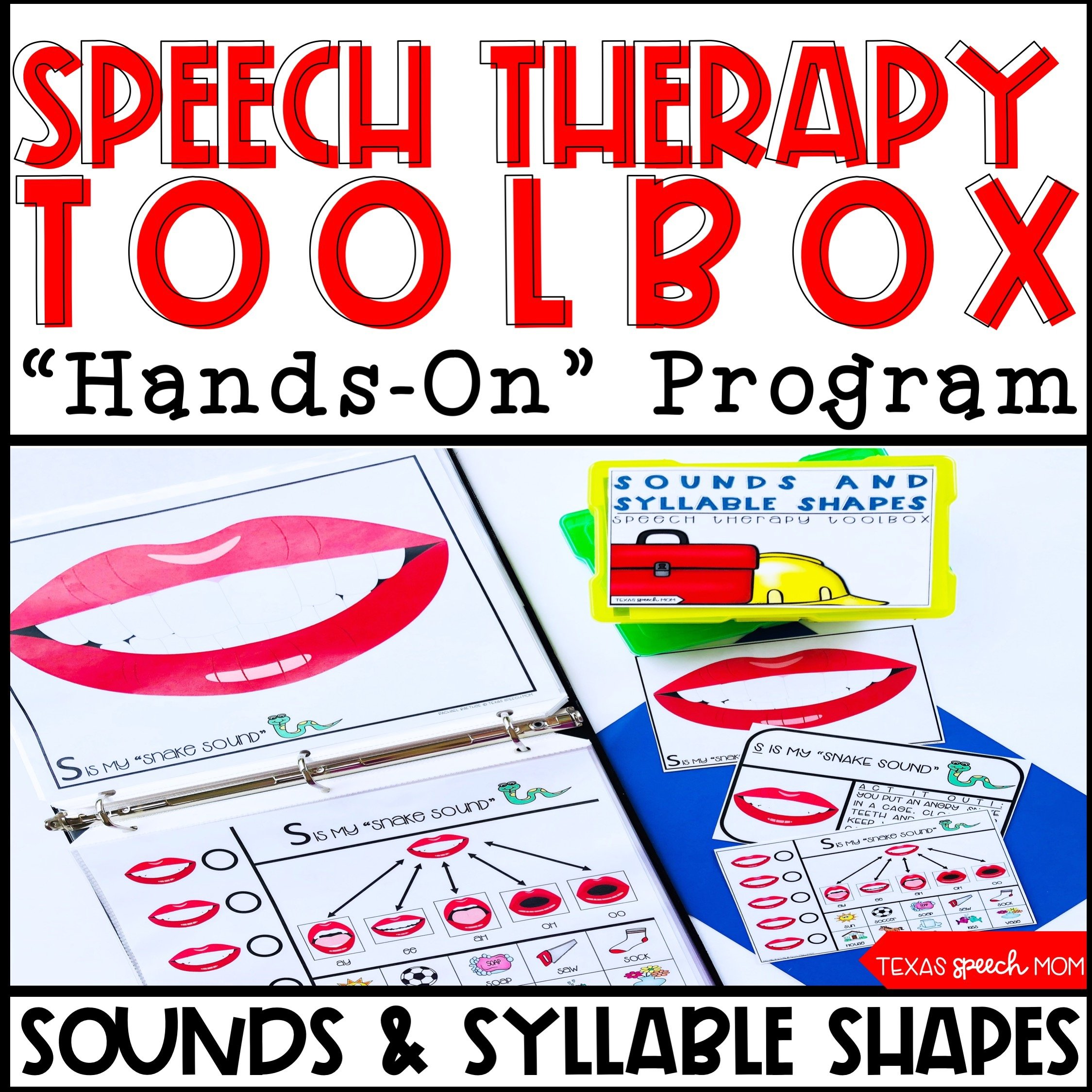 Thorough and Engaging Speech Therapy Products
